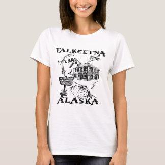 Camiseta Parque nacional de Talkeetna Alaska Denali