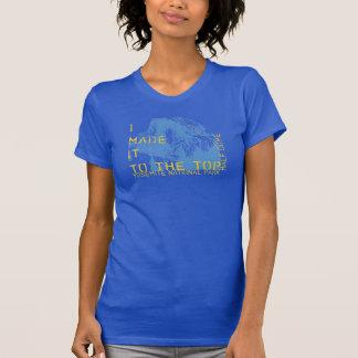 """Camiseta Parque nacional de Yosemite """"eu fi-lo ao superior"""