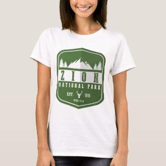 Camiseta Parque nacional de Zion