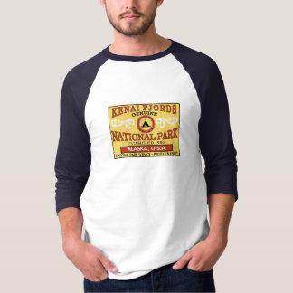 Camiseta Parque nacional dos fiordes de Kenai