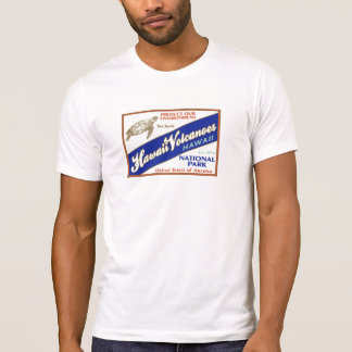 Camiseta Parque nacional dos vulcões de Havaí