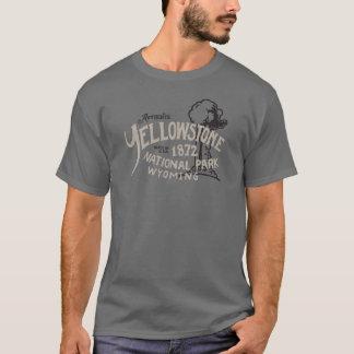 Camiseta Parque nacional Wyoming fiel velho de Yellowstone