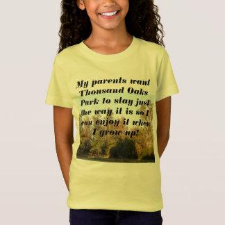 Camiseta Parque que de Thousand Oaks eu quero quando eu