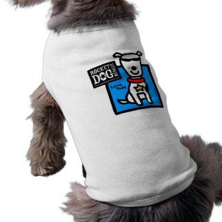 Camiseta Parr de Todd - cão branco