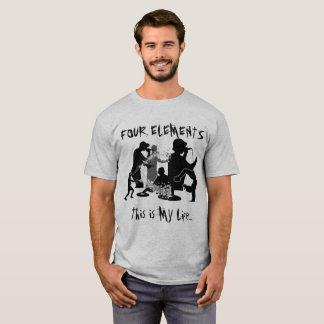 Camiseta Parte 2 de quatro elementos