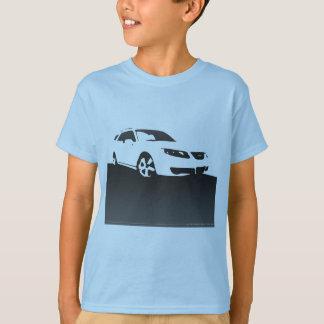 Camiseta Parte dianteira Aero de Saab 9-5 - carvão vegetal