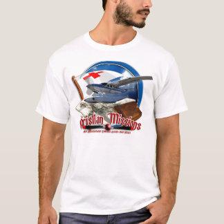 Camiseta Parte dianteira cristã das missões