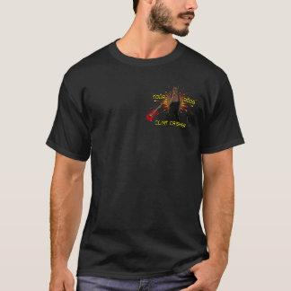 Camiseta Parte dianteira de Clint Crisher 2009/traseiro