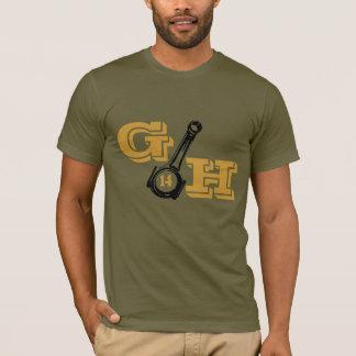 Camiseta Parte dianteira de G&H 14/traseiro