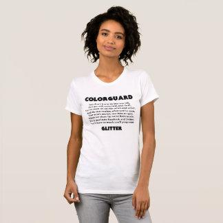 Camiseta Parte dianteira do brilho do tombadilho de