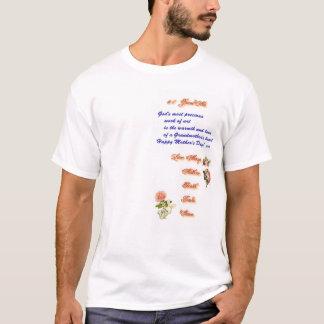Camiseta Parte dianteira do dia das mães 2005 da avó #1