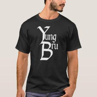 Camiseta Parte dianteira do logotipo de Yung Bru