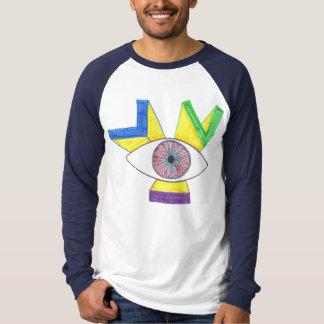 Camiseta Parte dianteira: Parte traseira do
