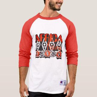 Camiseta Parte superior alaranjada unisex
