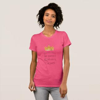 Camiseta Parte superior alta da campainha do abacaxi do