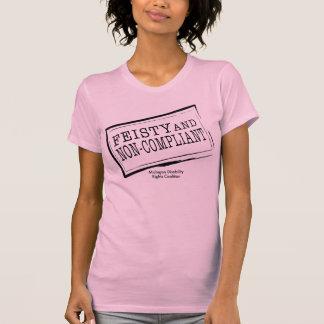 Camiseta Parte superior completa reversível resoluto