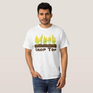 Camiseta Parte superior da colheita