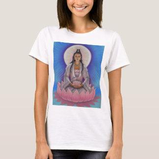 Camiseta Parte superior da corda dos espaguetes de Kuan Yin