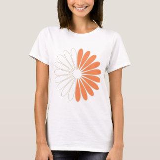Camiseta Parte superior da flor