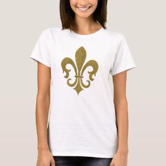 Camiseta Parte superior da flor de lis
