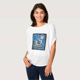 Camiseta Parte superior da sereia