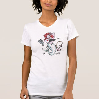 Camiseta Parte superior da sereia de Molly