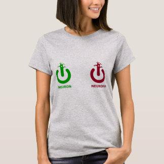 Camiseta Parte superior das senhoras de Neuroff do neurônio