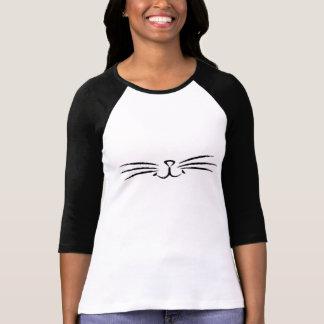 Camiseta Parte superior das suiças do gato do Meow