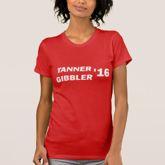 Camiseta Parte superior de Gibbler 2016 do curtidor