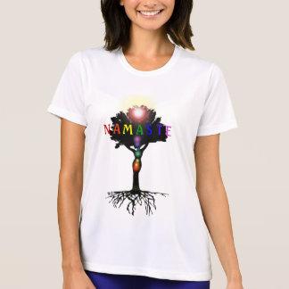 Camiseta Parte superior de Namaste Chakra