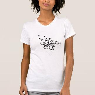 Camiseta Parte superior de Tang do autismo