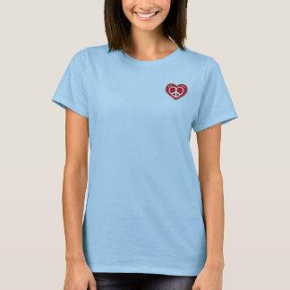Camiseta Parte superior do amor N Happines 2-Ladies Sketti