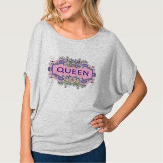 Camiseta Parte superior do círculo da RAINHA
