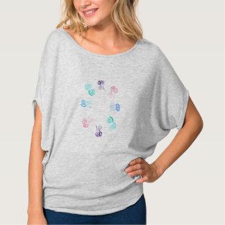Camiseta Parte superior do círculo das mulheres das medusa