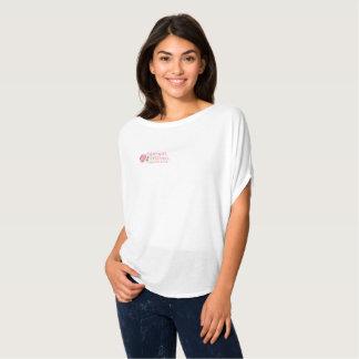 Camiseta Parte superior do círculo de Flowy