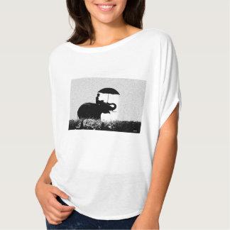 Camiseta Parte superior do círculo de Flowy da arte da