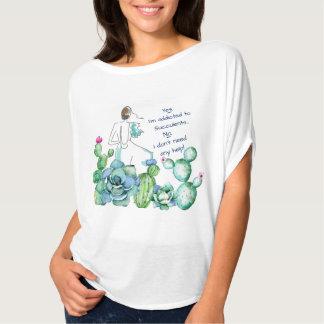 Camiseta Parte superior do círculo de Flowy do estilo do