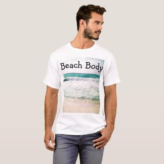 Camiseta Parte superior do corpo da praia
