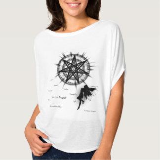 Camiseta Parte superior do fluxo de Magick do país das