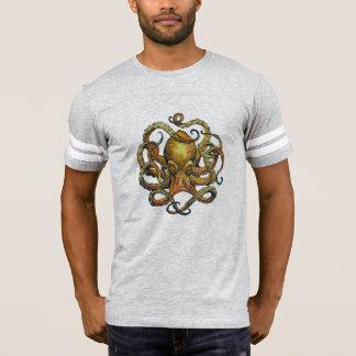 Camiseta Parte superior do futebol do polvo