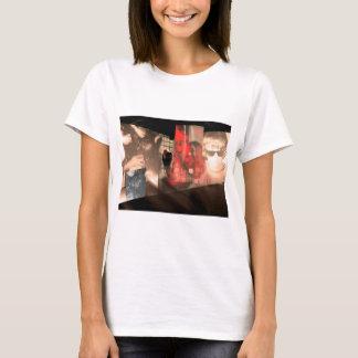 Camiseta Parte superior do impressão da foto da arte