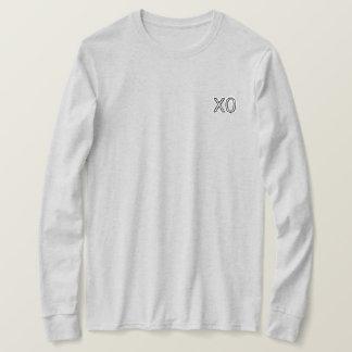 Camiseta Parte superior do longsleeve de XO
