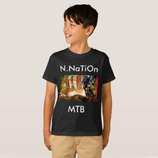 Camiseta parte superior do Mountain bike da nação /N.NaTiOn