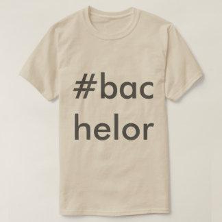 Camiseta Parte superior do solteiro dos homens
