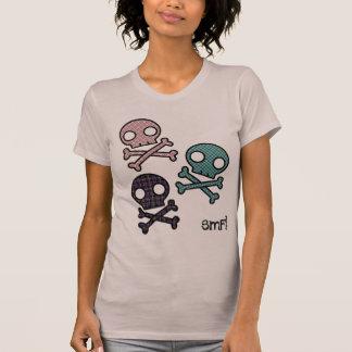 Camiseta Parte superior dos crânios