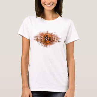 Camiseta Parte superior dos espaguetes da elevação dos