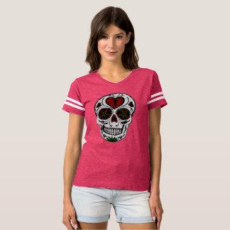 Camiseta Parte superior dos esportes das mulheres
