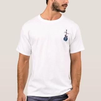Camiseta Parte superior figurada da chama do AAA
