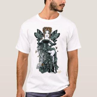 Camiseta Parte superior gótico da fada da borboleta do