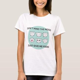 Camiseta Parte superior ilustrada mulheres do humor da